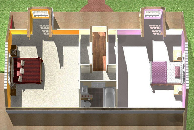 Best Cape Attic Renovation Two Bedrooms And One Bath With Pictures