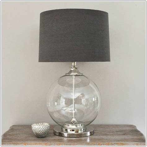 Best Clear Glass Table Lamps For Bedroom Lamps Home Decorating Ideas 5Oppyvmr3Q With Pictures