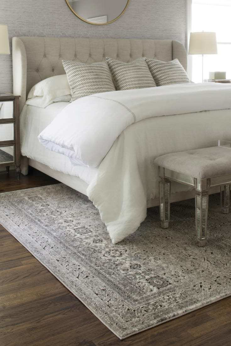 Best How To Choose The Perfect Bedroom Area Rug Overstock Com With Pictures