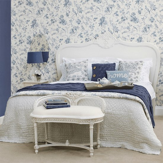 Best Beautiful Blue White Bedroom Wallpaper Review With Pictures