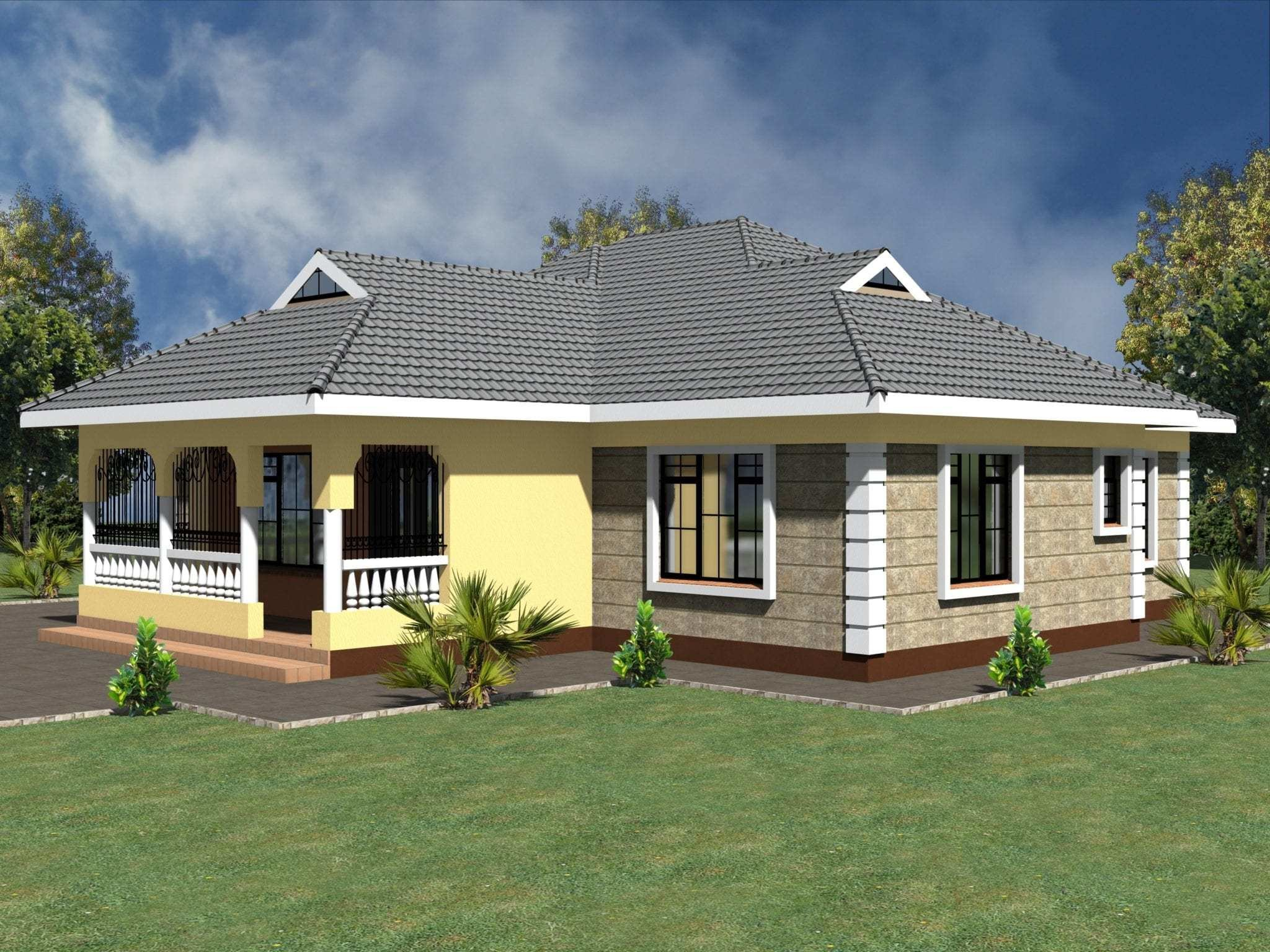 Best Simple 3 Bedroom House Plans Without Garage Hpd Consult With Pictures