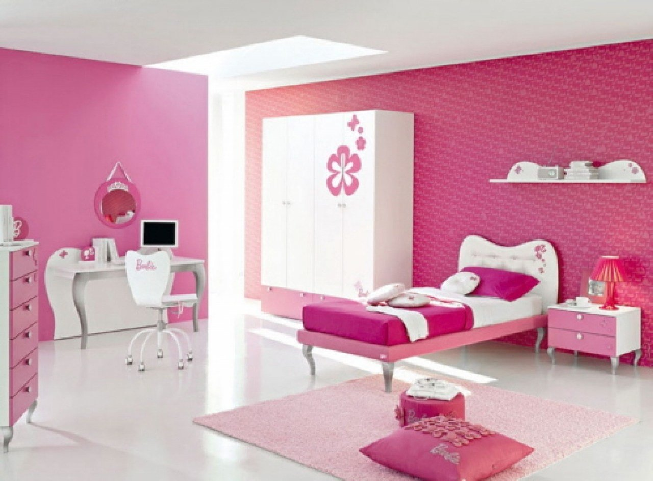 Best Decorating Bedroom Paint Pink And Purple Teenage Girls With Pictures