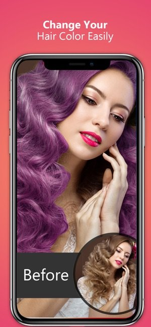 Free Hair Color Eye Color Changer On The App Store Wallpaper