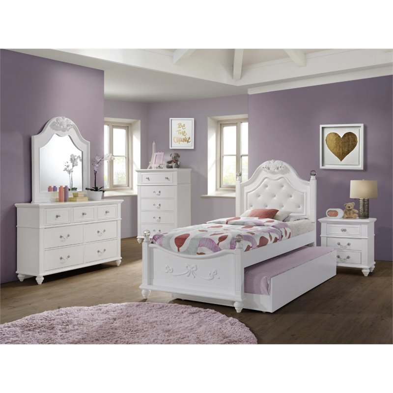 Best Picket House Furnishings Annie 5 Piece Twin Bedroom Set In With Pictures