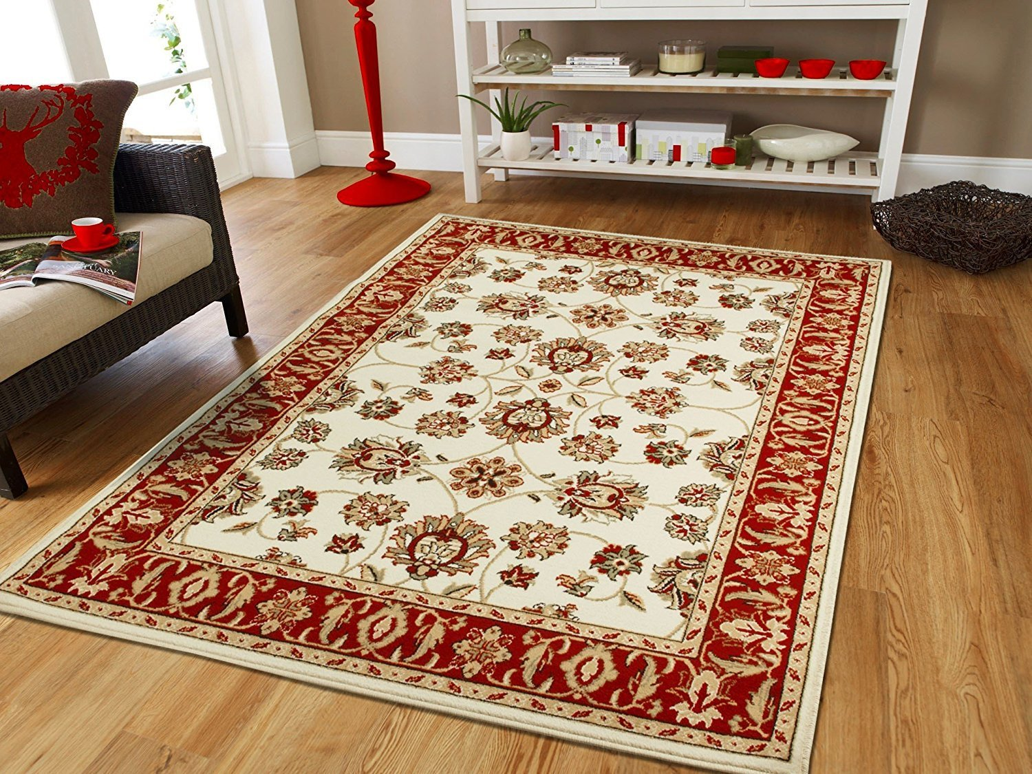 Best Traditional Rugs Ivory Bedroom Rugs 5X7 Cream Area Rugs On With Pictures