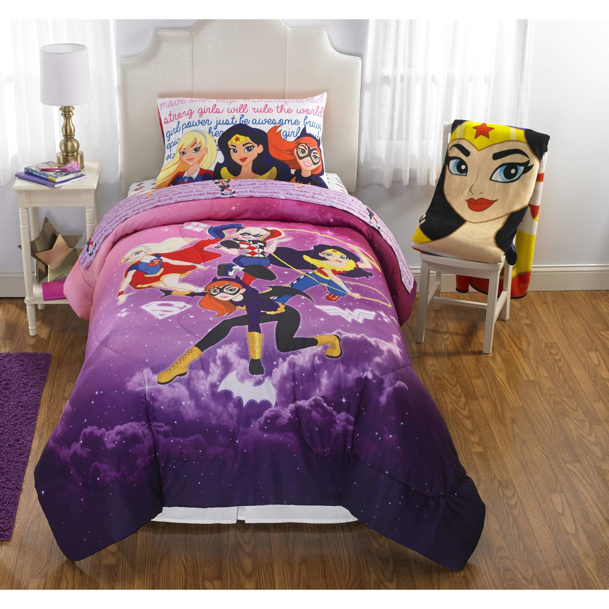 Best Dc Superhero Girls Cosmic Girl Reversible Twin Full With Pictures