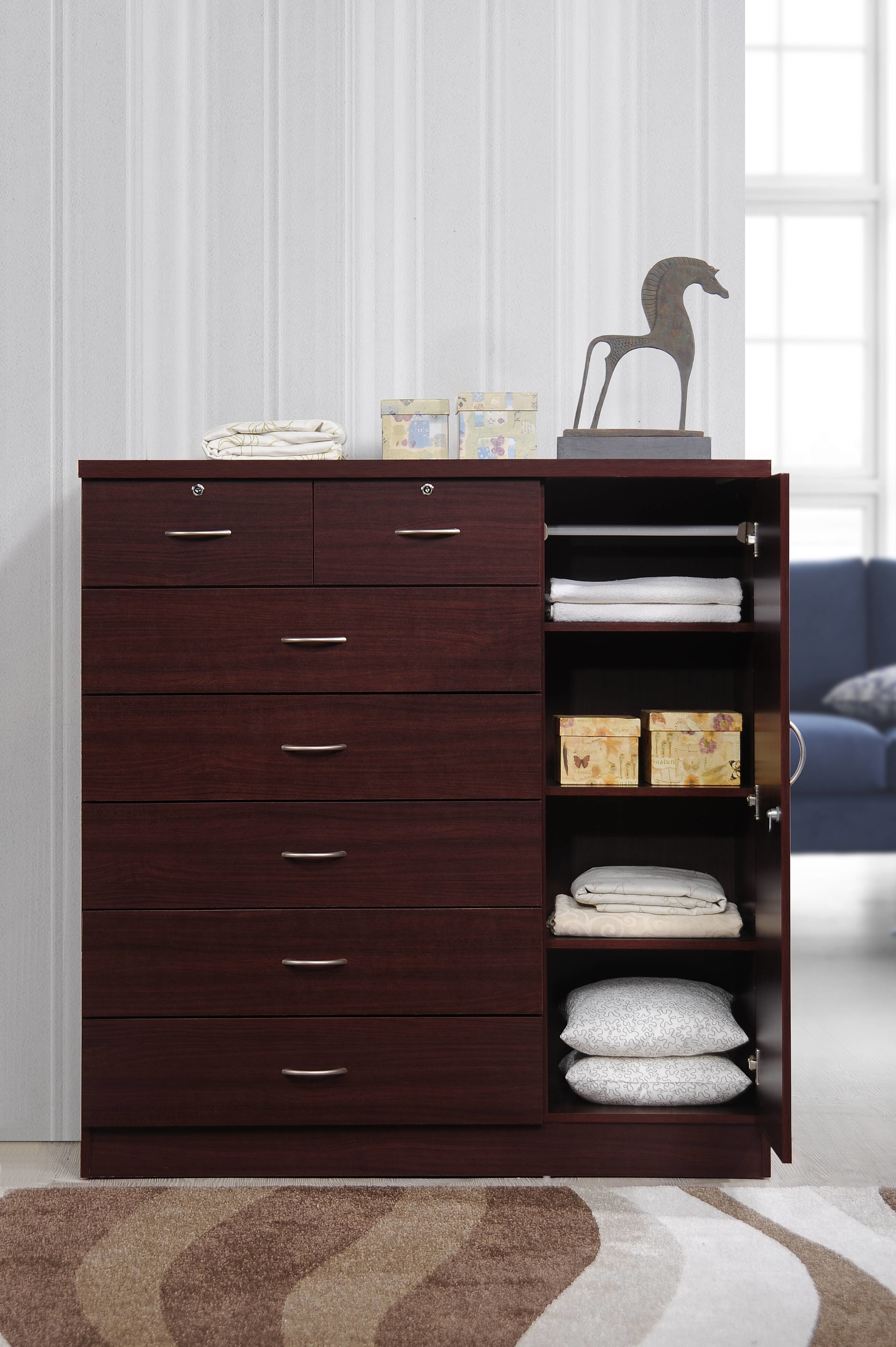 Best Dresser Bedroom 7 Drawer Chest Jumbo Wood Home Closet With Pictures