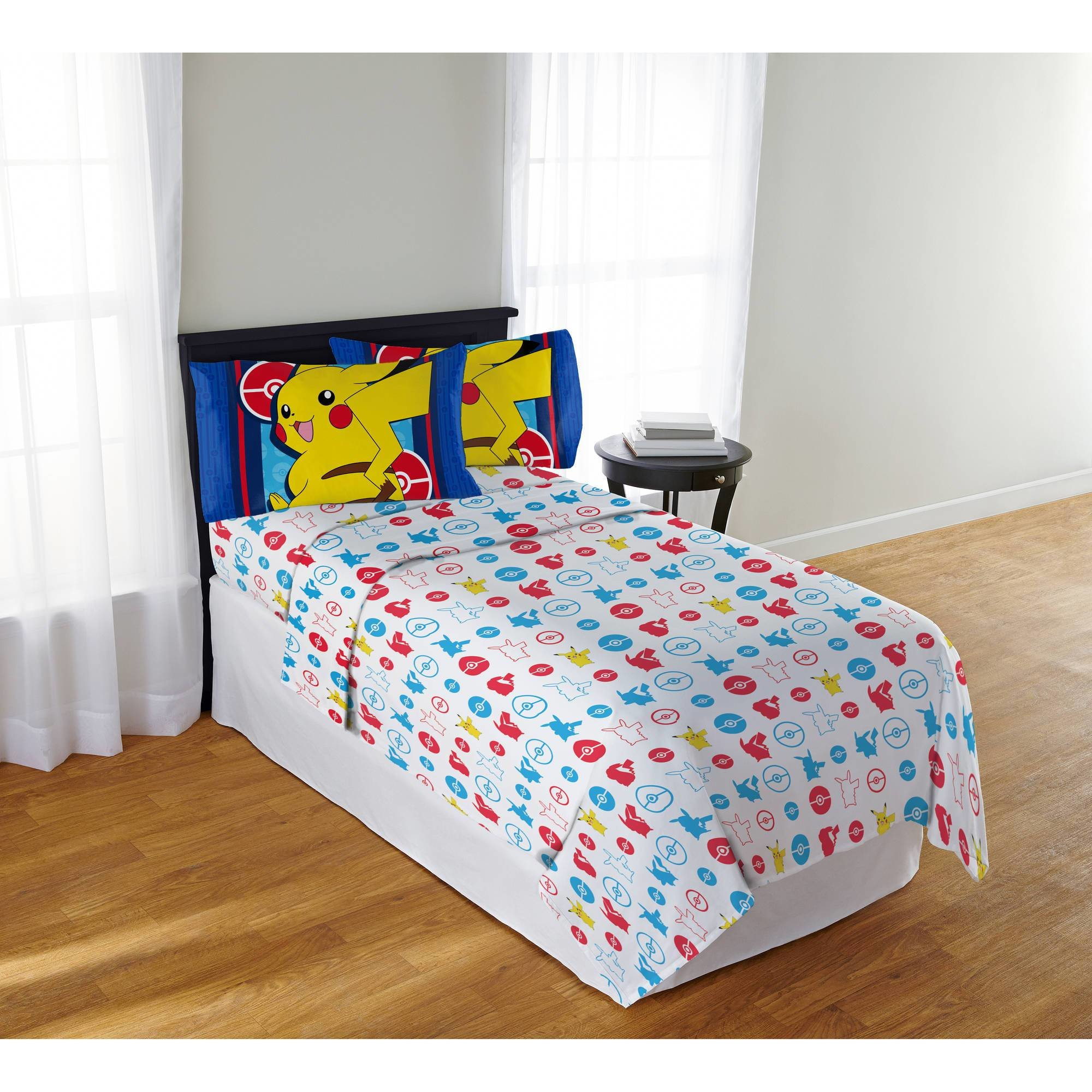 Best Pokemon Bedding Electric Ignite Sheet Set Multiple Size With Pictures