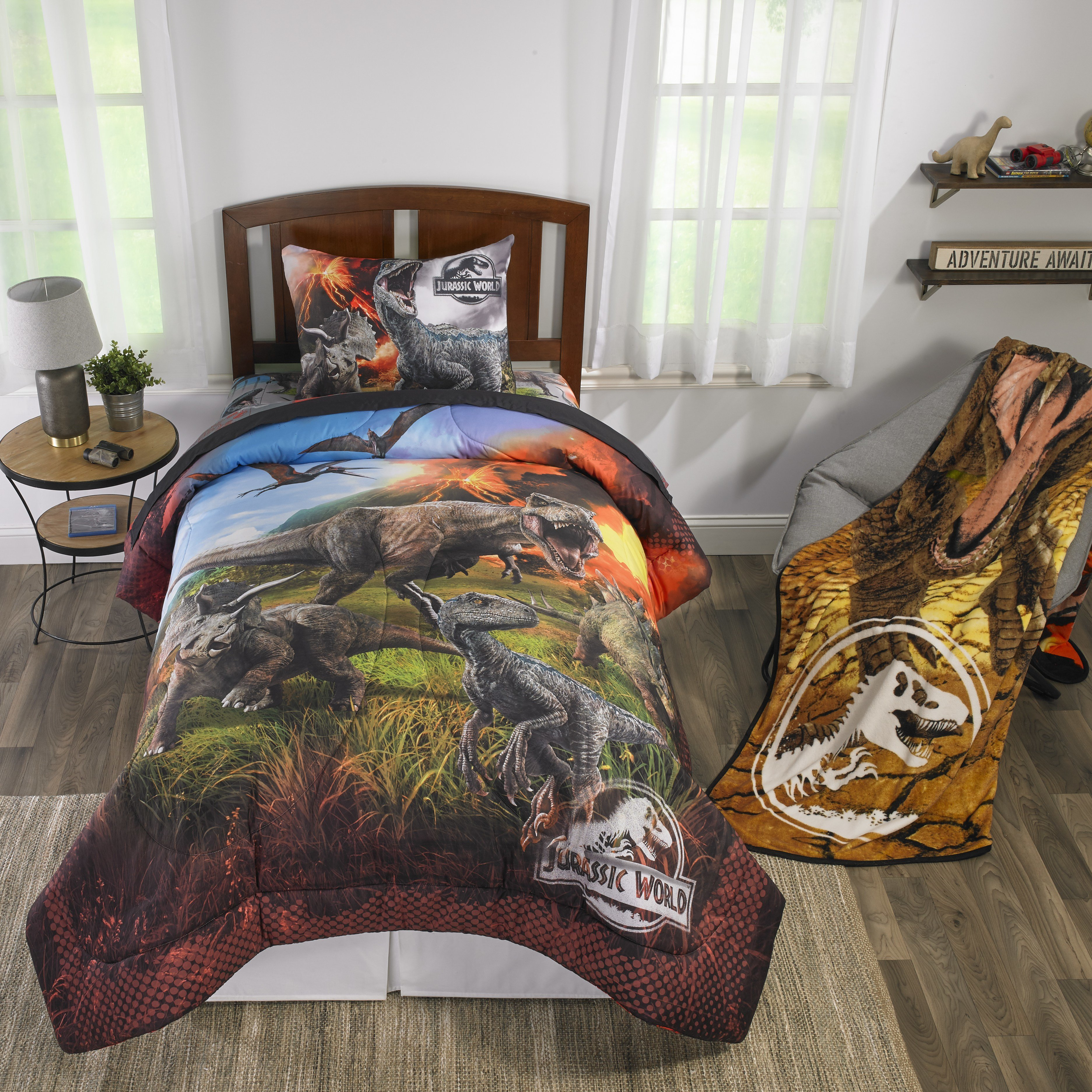 Best Jurassic World Dinosaur Kids Room Bedroom Decor Bedding With Pictures