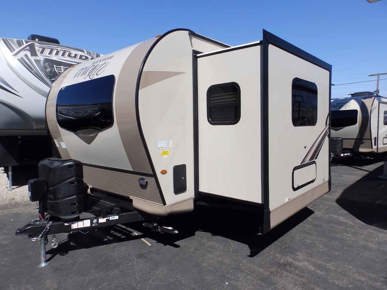 Best 2018 New Forest River Rockwood 2506S 1 Slide Outside With Pictures