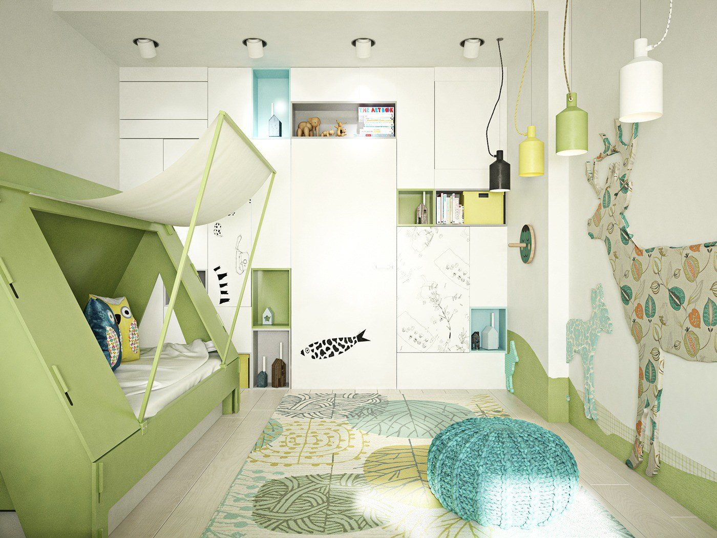 Best 18 Kids Bedroom Lighting Designs Ideas Design Trends With Pictures