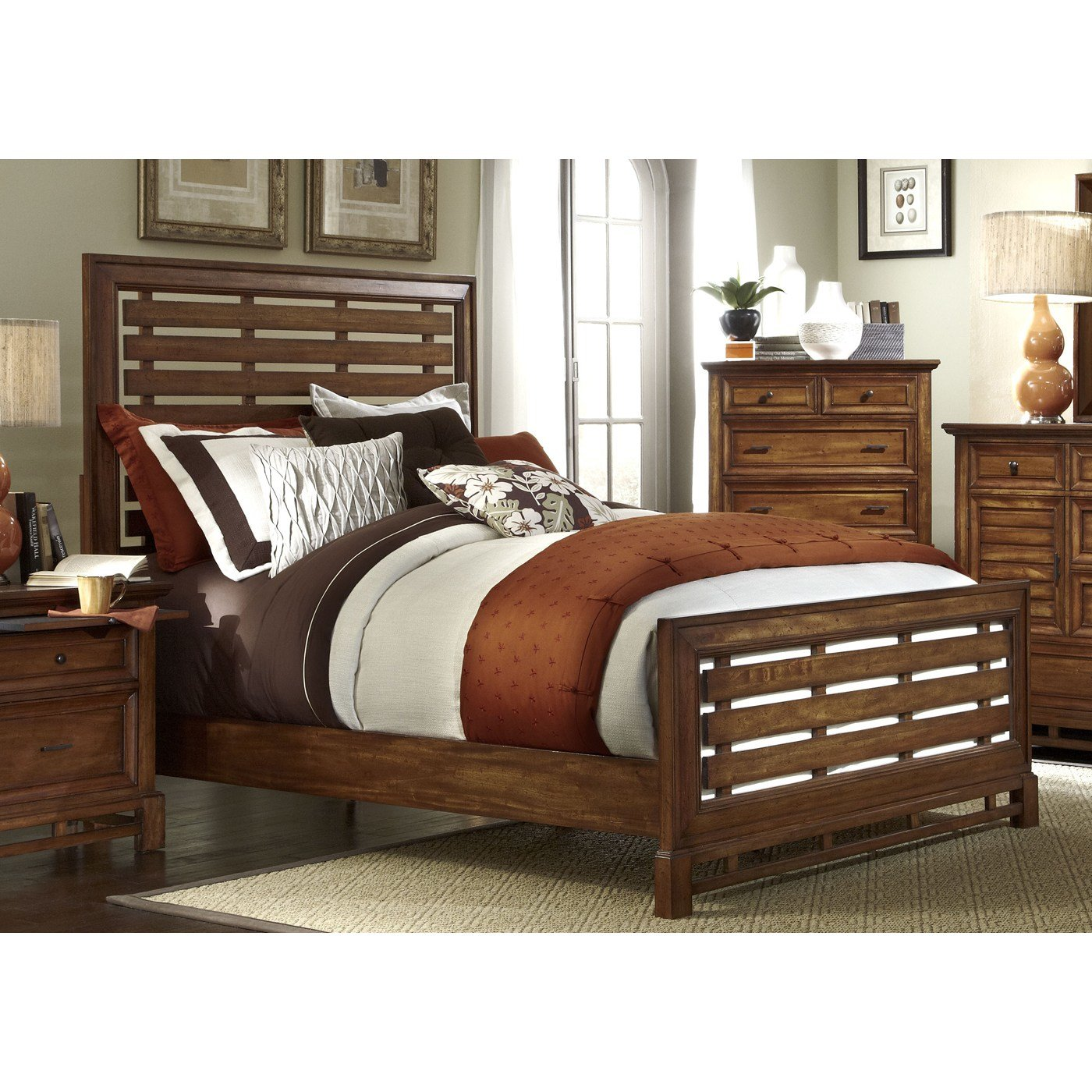 Best Progressive Furniture Catalina Slat Bed Atg Stores With Pictures