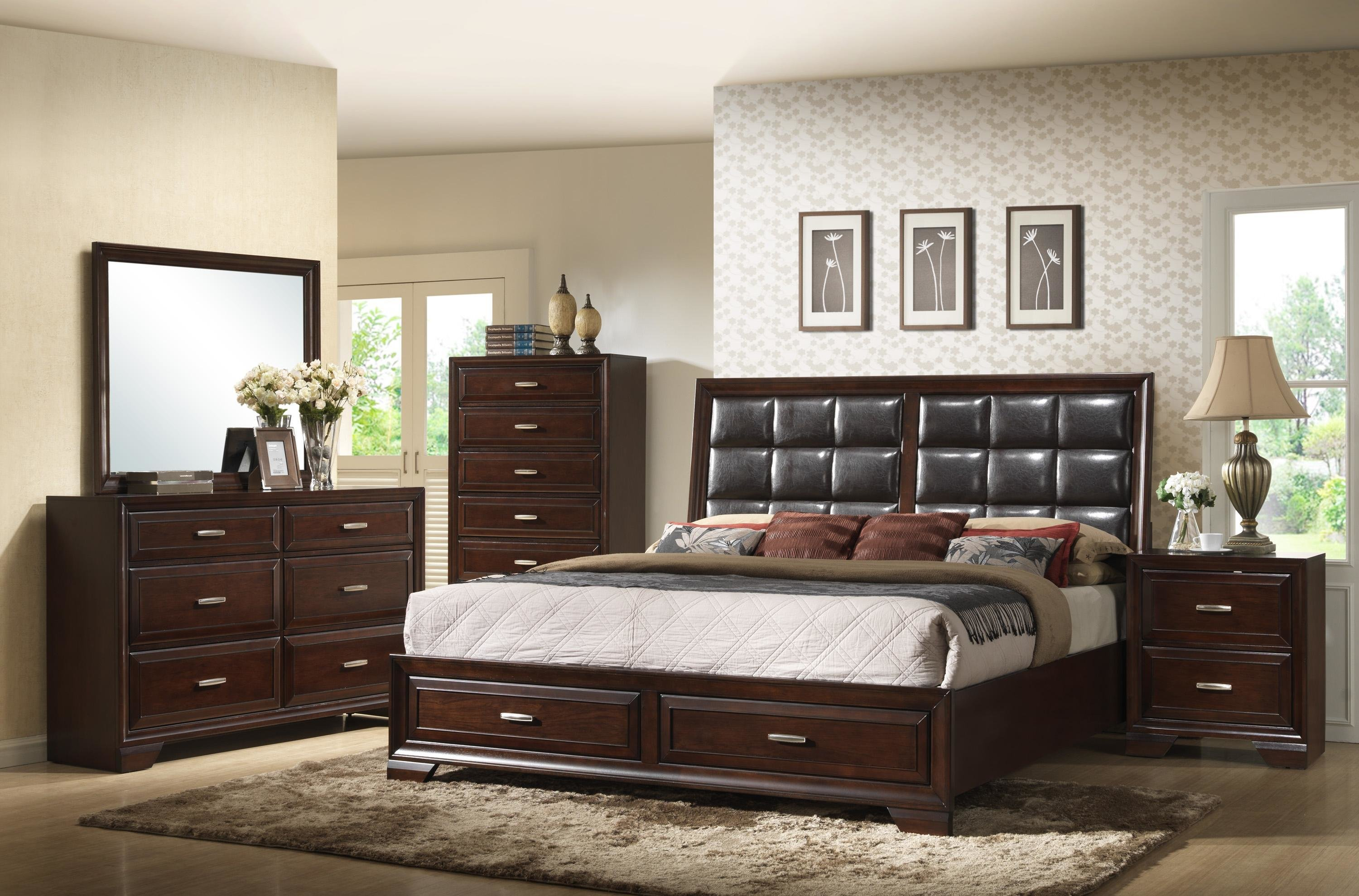 Best Crown Mark Jacob King Bedroom Group Royal Furniture With Pictures