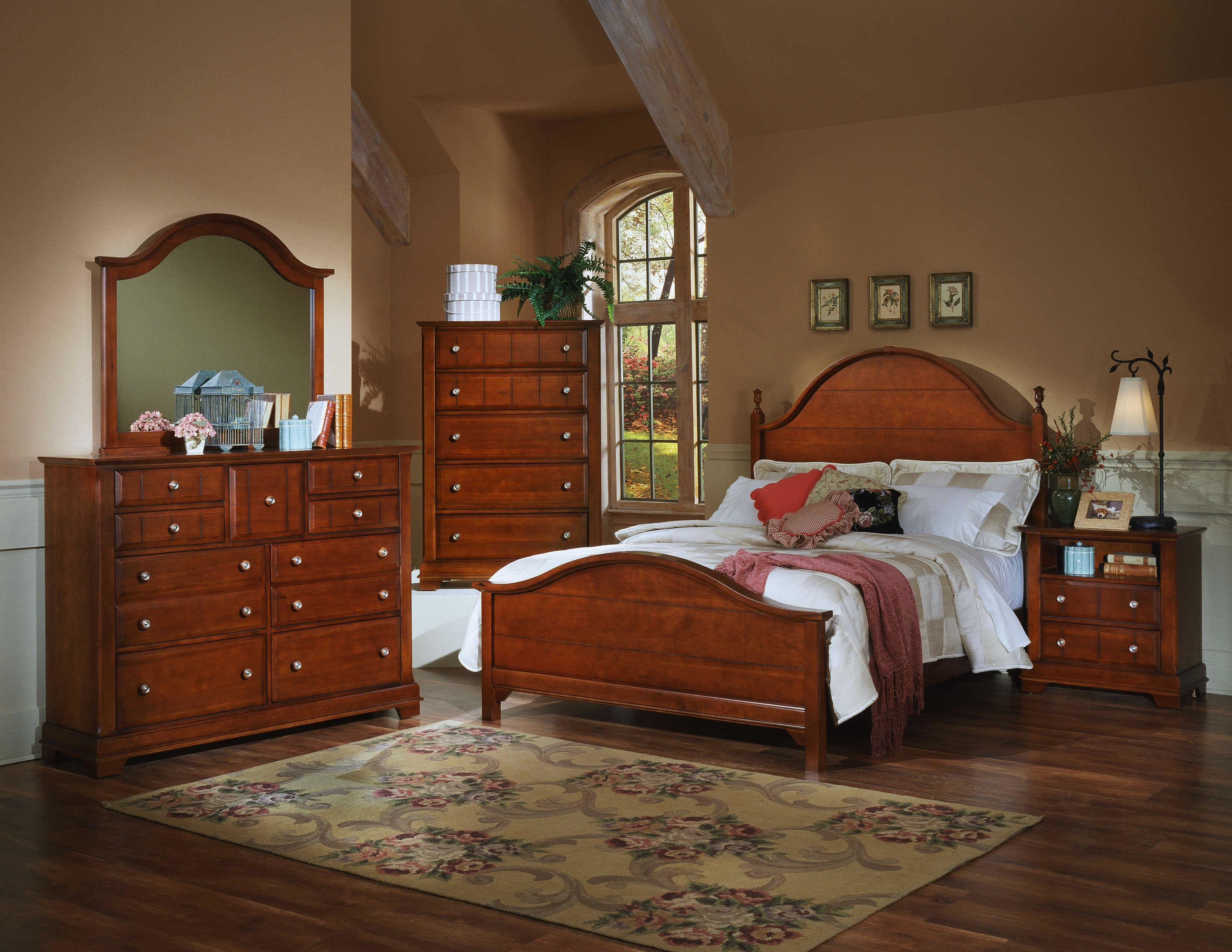 Best Vaughan Bassett Cottage California King Bedroom Group With Pictures