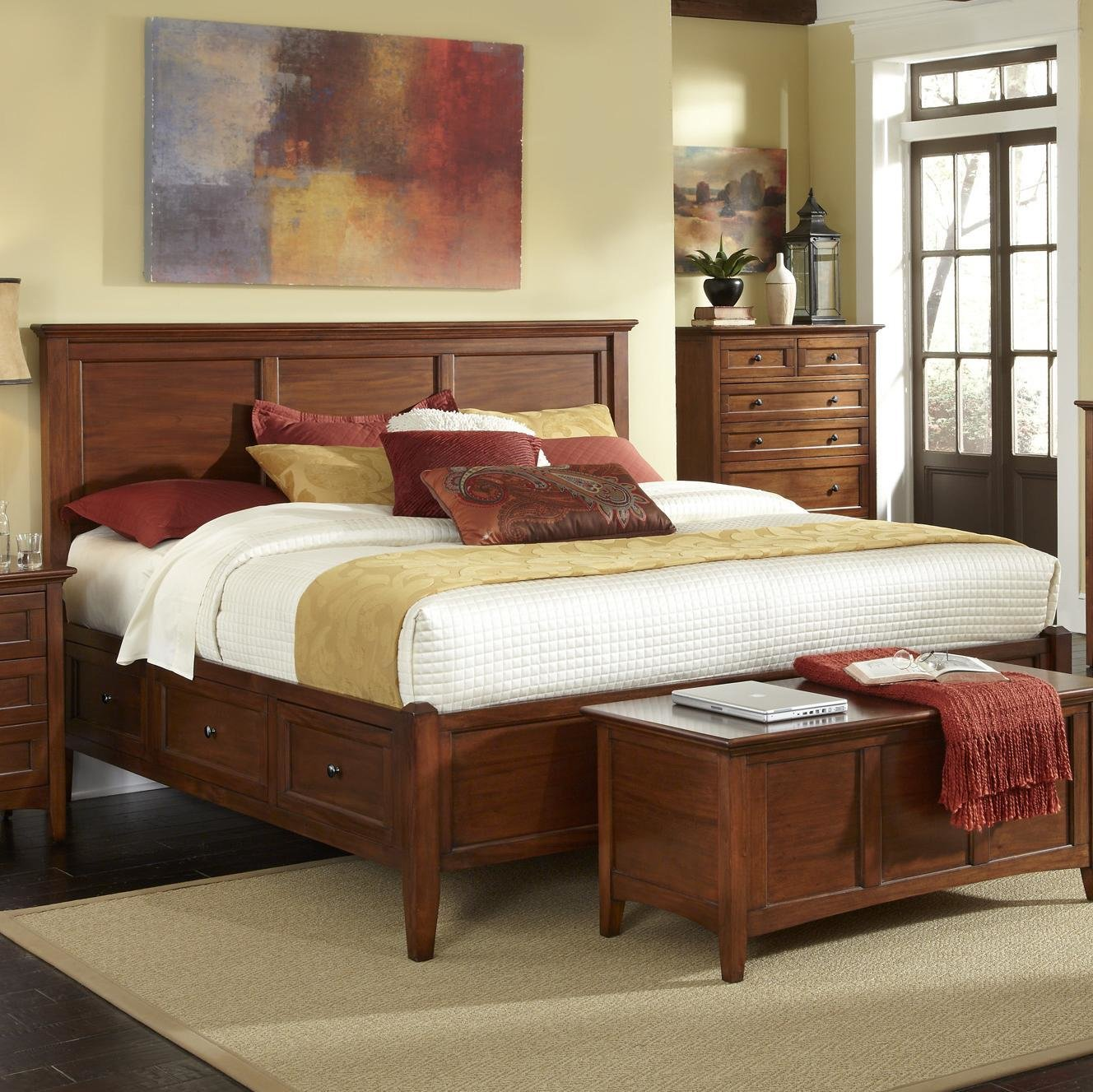Best Waterford Collection King Storage Bed Rotmans Platform Beds Low Profile Beds With Pictures