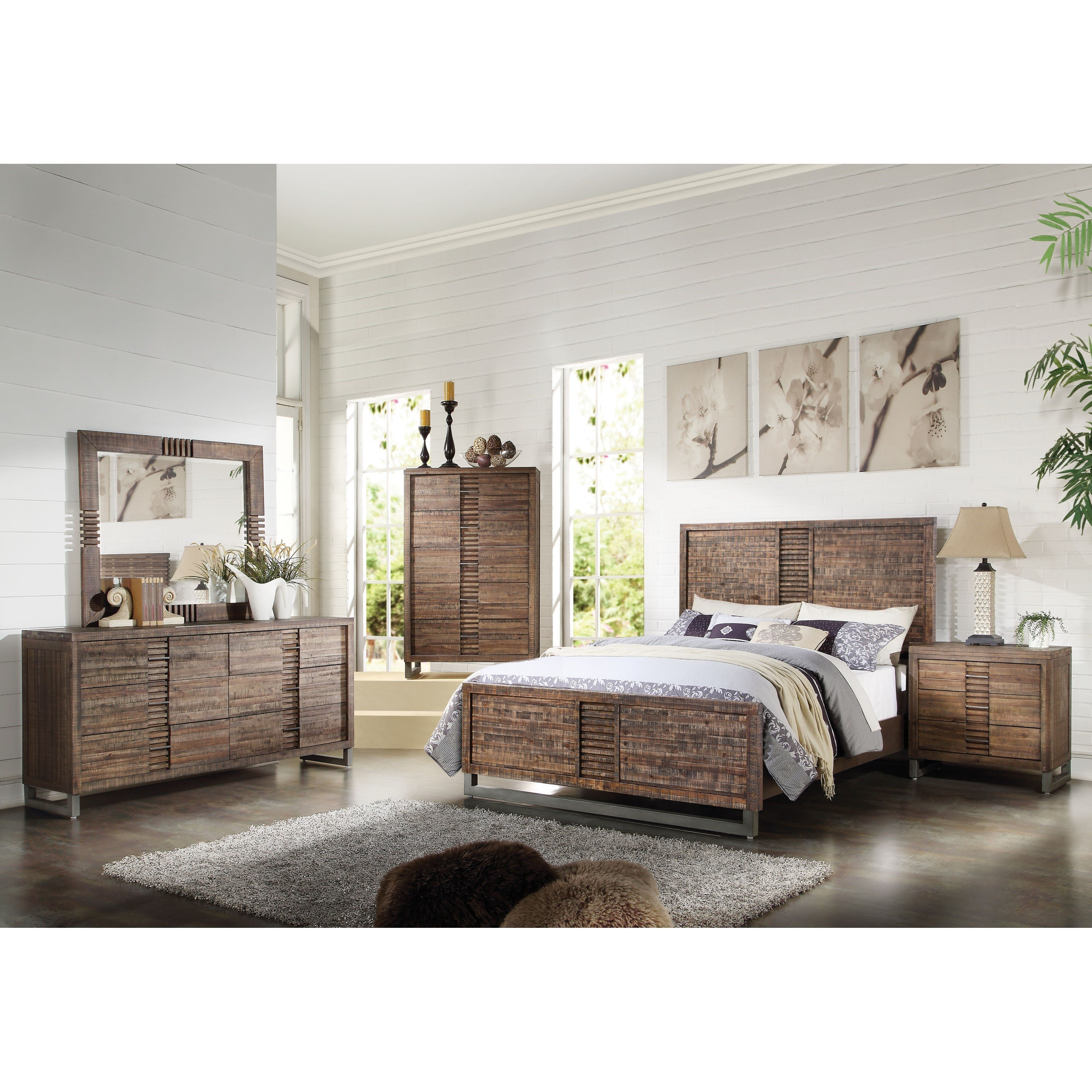 Best Acme Furniture Andria King Bedroom Group Dream Home With Pictures