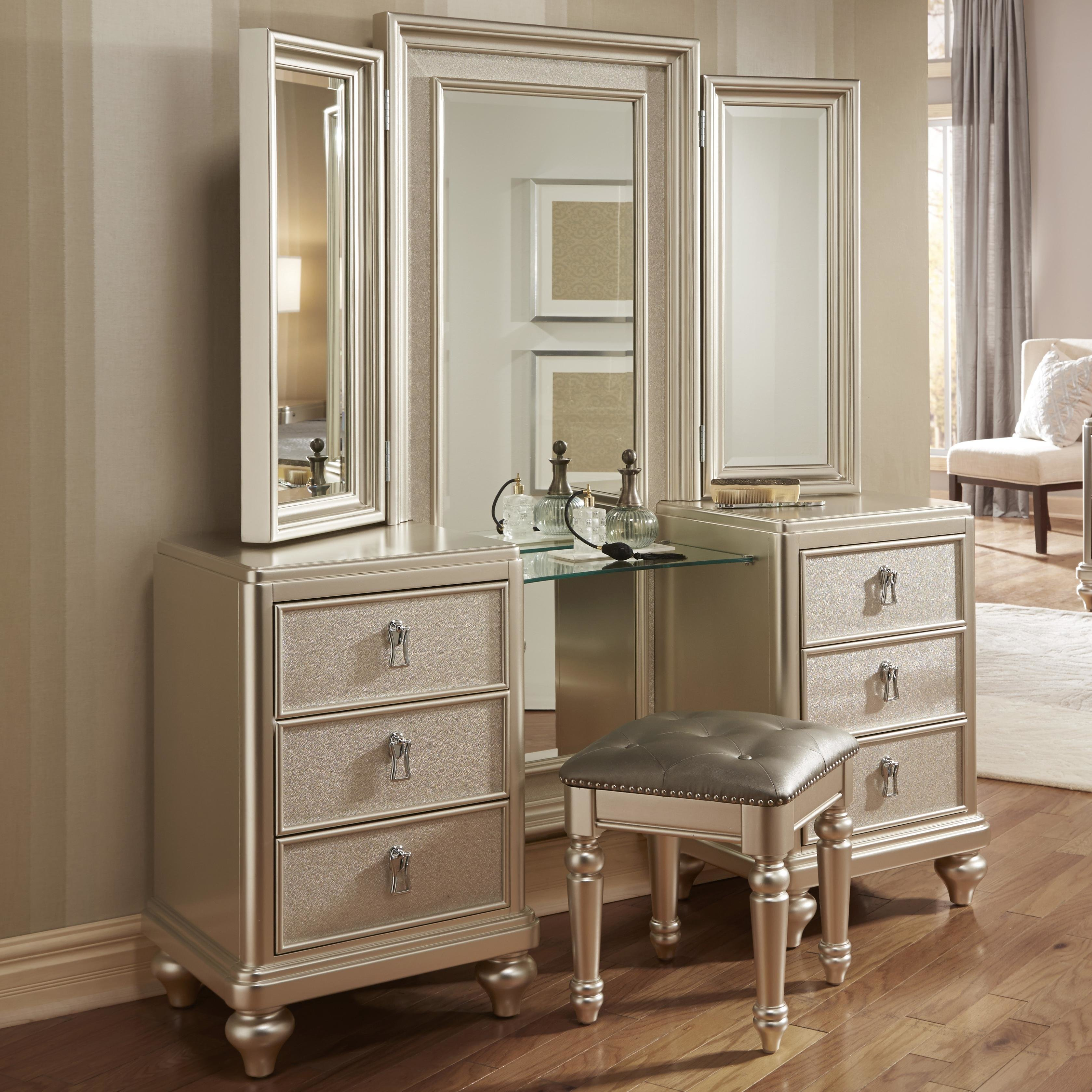 Best Samuel Lawrence Diva Vanity Dresser W Stool Miskelly With Pictures