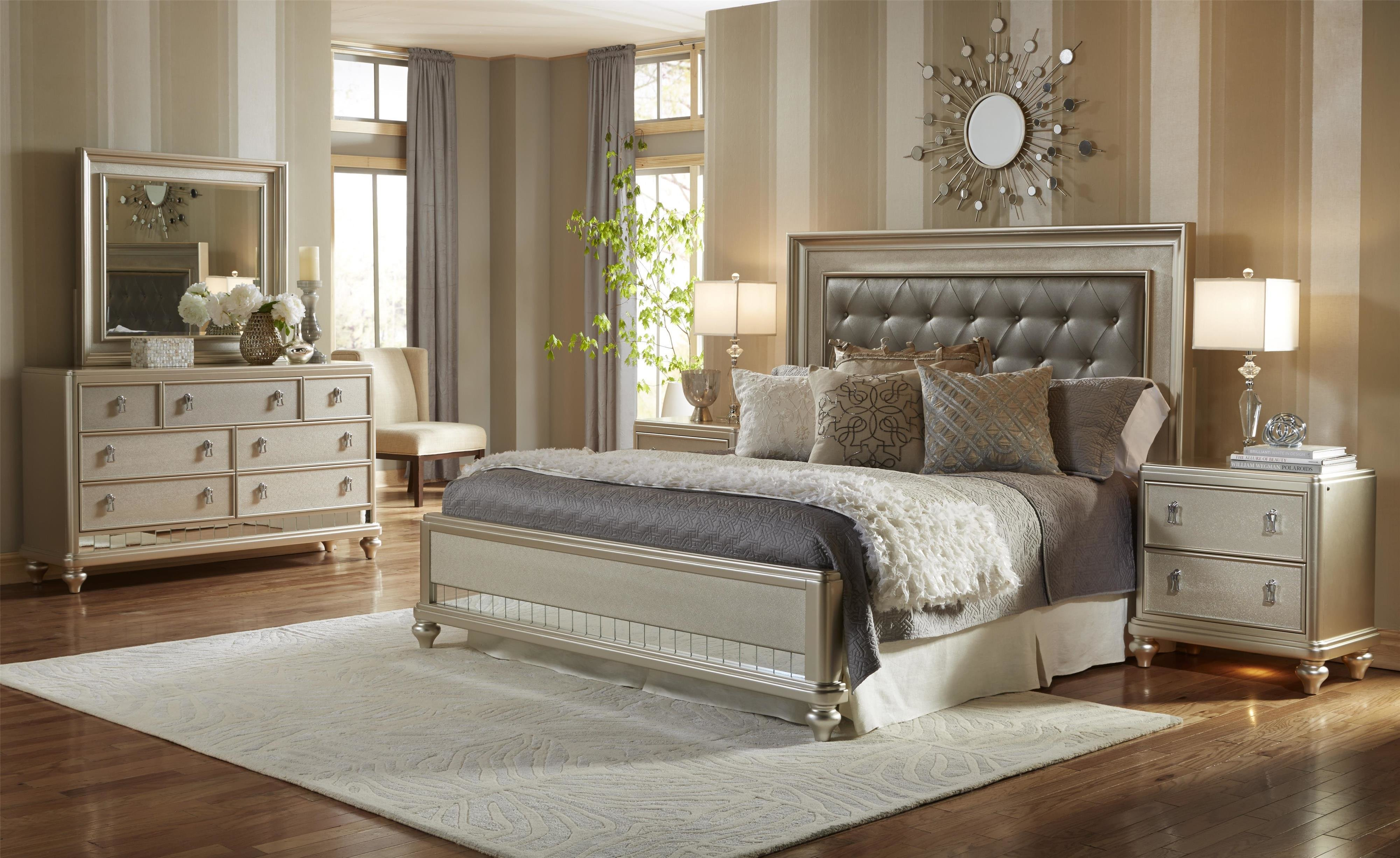Best Samuel Lawrence Diva King Bedroom Group Miskelly With Pictures