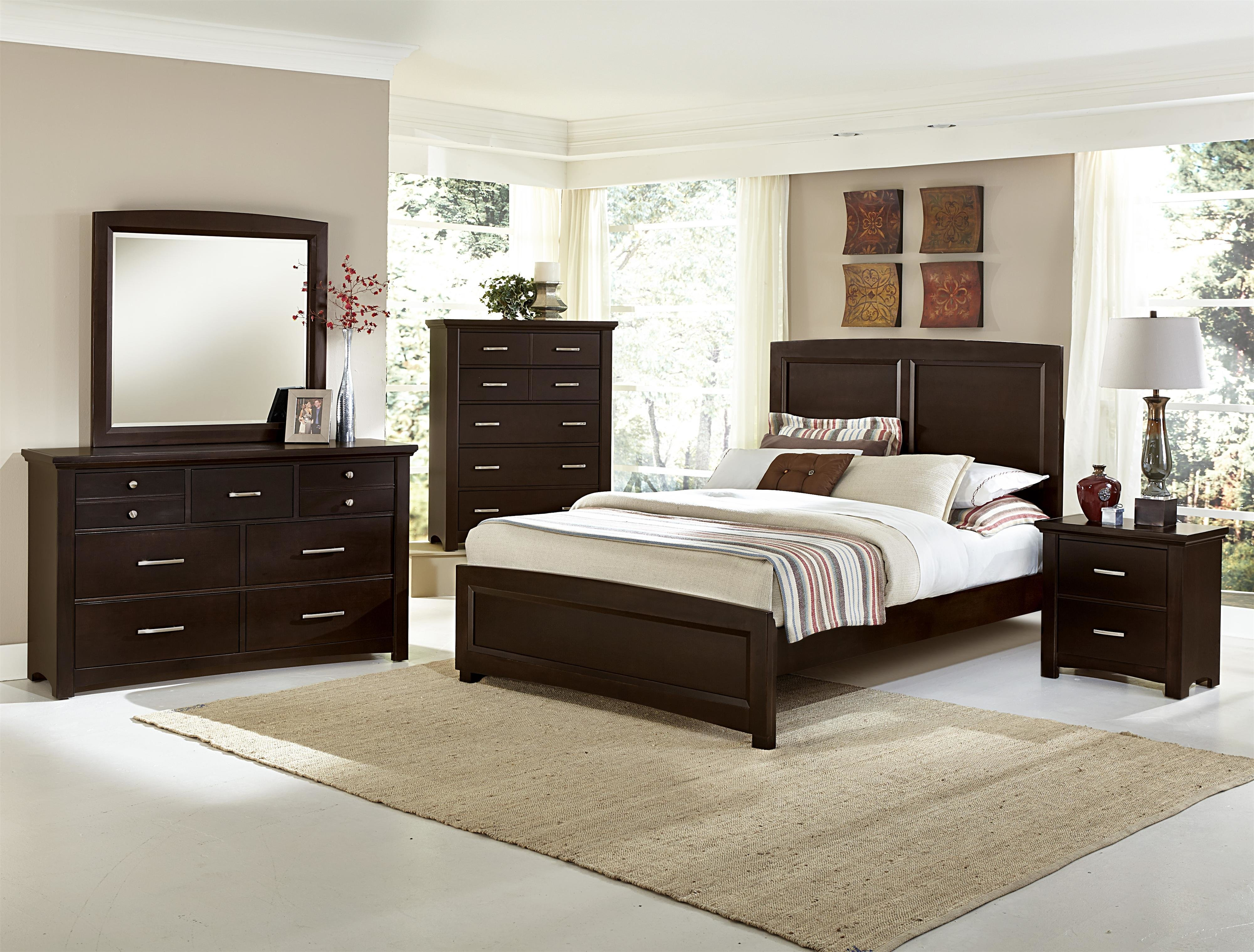 Best Vaughan Bassett Transitions Queen Bedroom Group Dunk With Pictures
