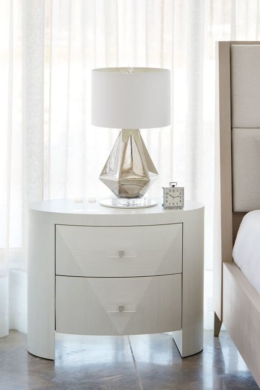 Best Bernhardt Bedroom Oval Nightstand 381 213 High Point With Pictures