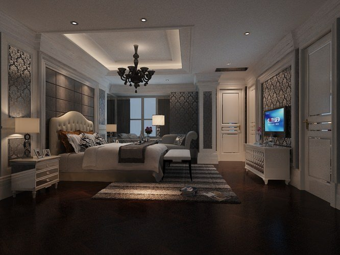 Best Fancy Bedroom 3D Model Max Cgtrader Com With Pictures
