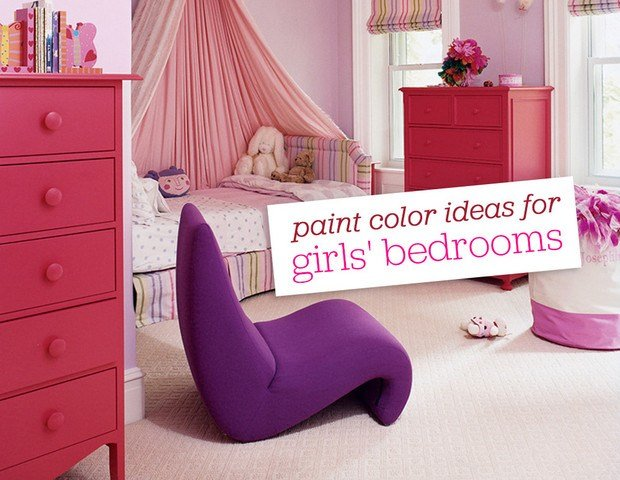 Best 10 Paint Color Ideas For Girls Bedrooms Domino With Pictures