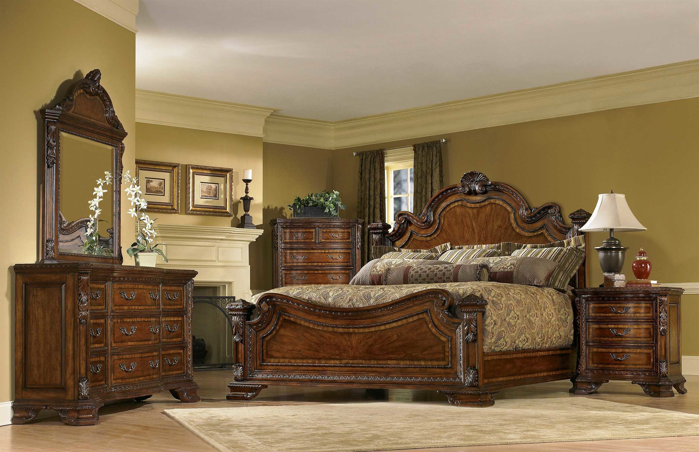 Best A R T Furniture Old World Bedroom Set At1431562606Set With Pictures