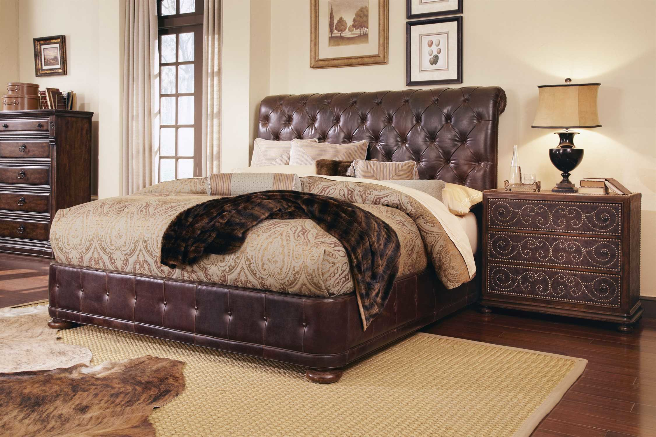 Best A R T Furniture Whiskey Oak Bedroom Set At2051352304Set2 With Pictures