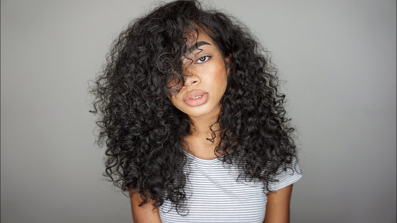Free Updated Simple Big Curly Hair Routine 2016 3A 3B Youtube Wallpaper