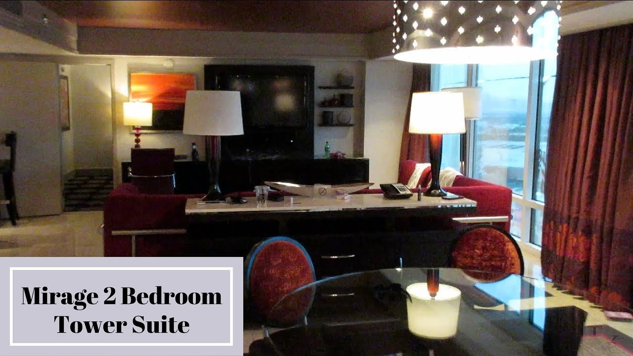 Best Mirage Las Vegas Two Bedroom Tower Suite Youtube With Pictures