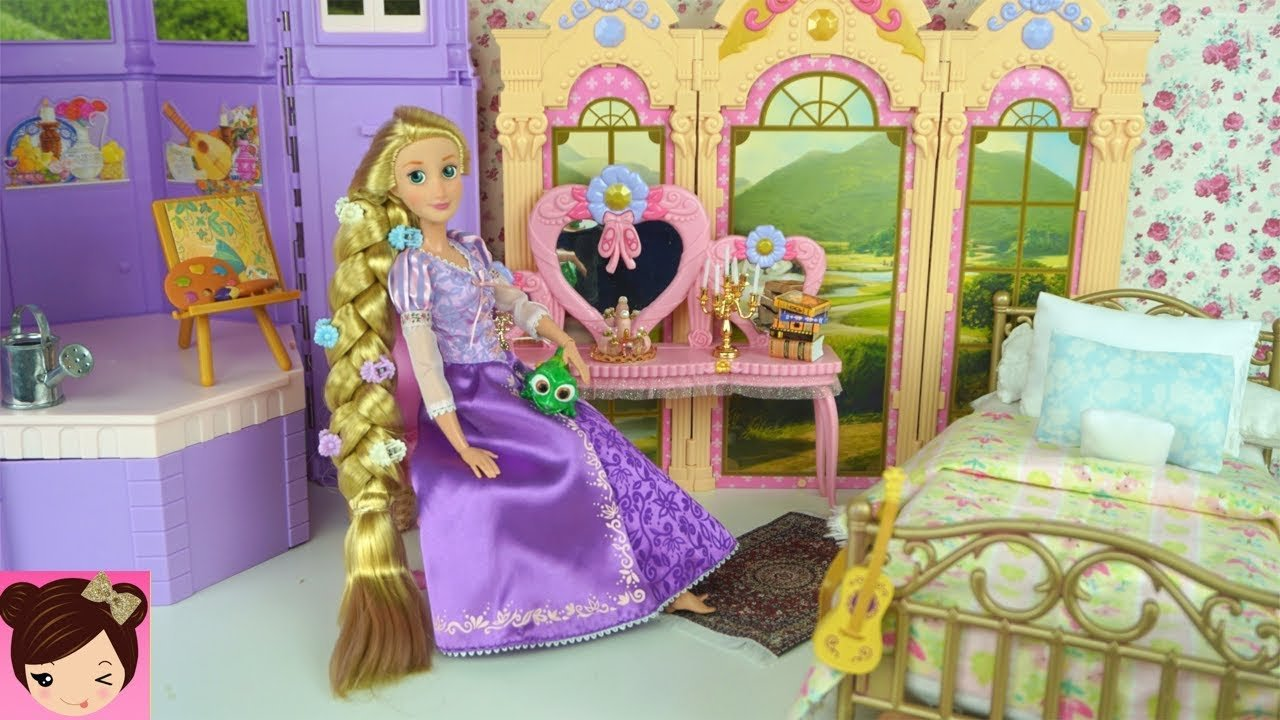Best Barbie Rapunzel Bedroom Morning Routine Disney Princess With Pictures