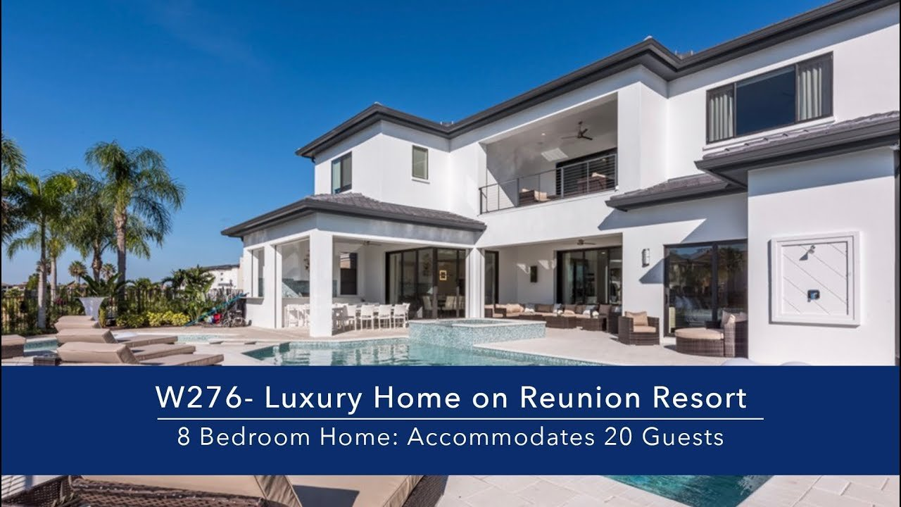 Best 8 Bedroom Luxury Vacation Home In Orlando Fl Youtube With Pictures