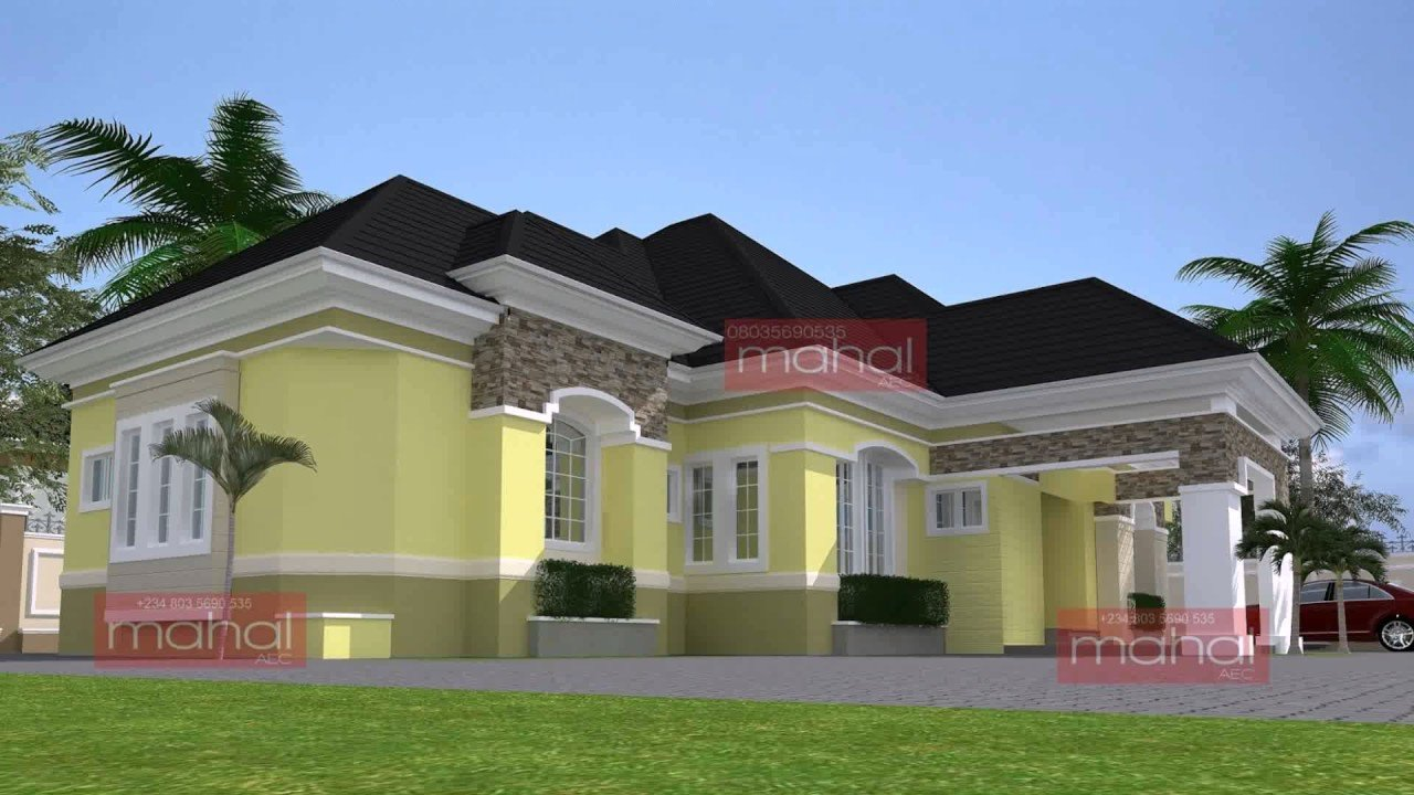 Best Modern Bungalow House Design In Nigeria Youtube With Pictures