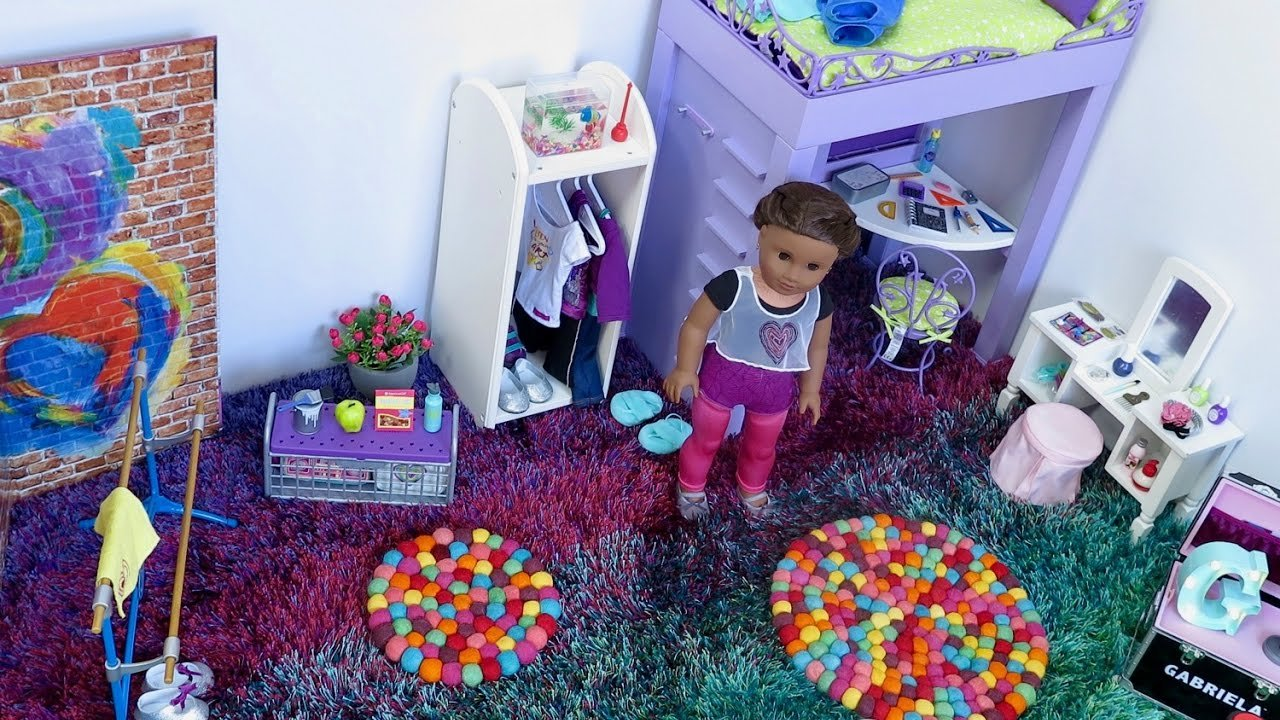 Best American Girl Doll Bedroom Youtube With Pictures