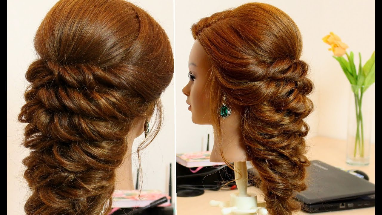 Free Easy Hairstyle For Long Hair Tutorial Youtube Wallpaper