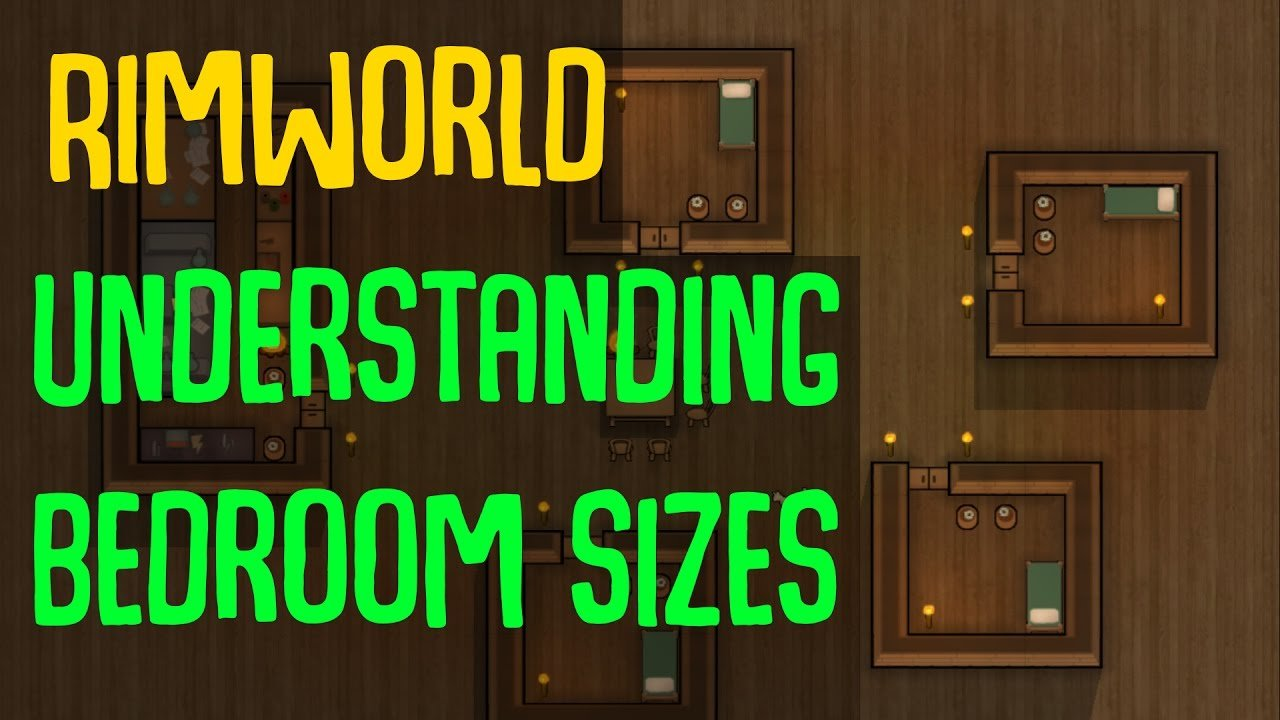 Best Rimworld Understanding Bedroom Sizes What Are The With Pictures