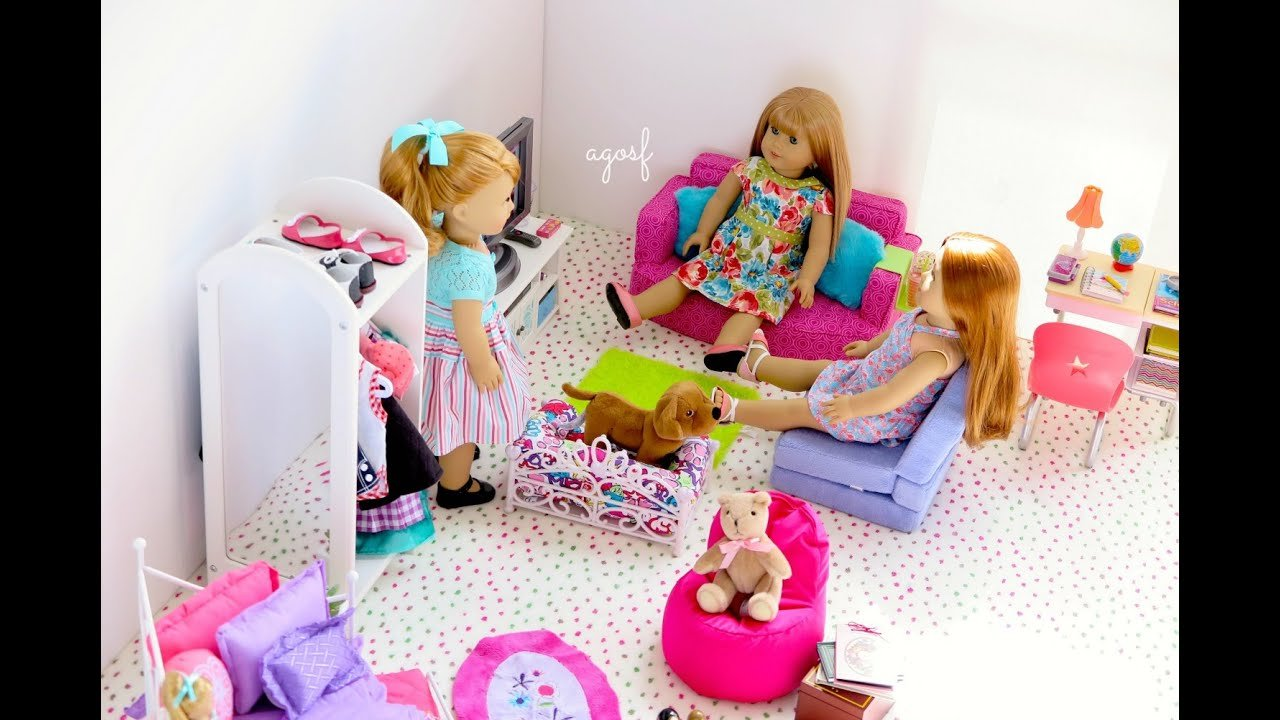 Best American Girl Doll Maryellen Bedroom Youtube With Pictures