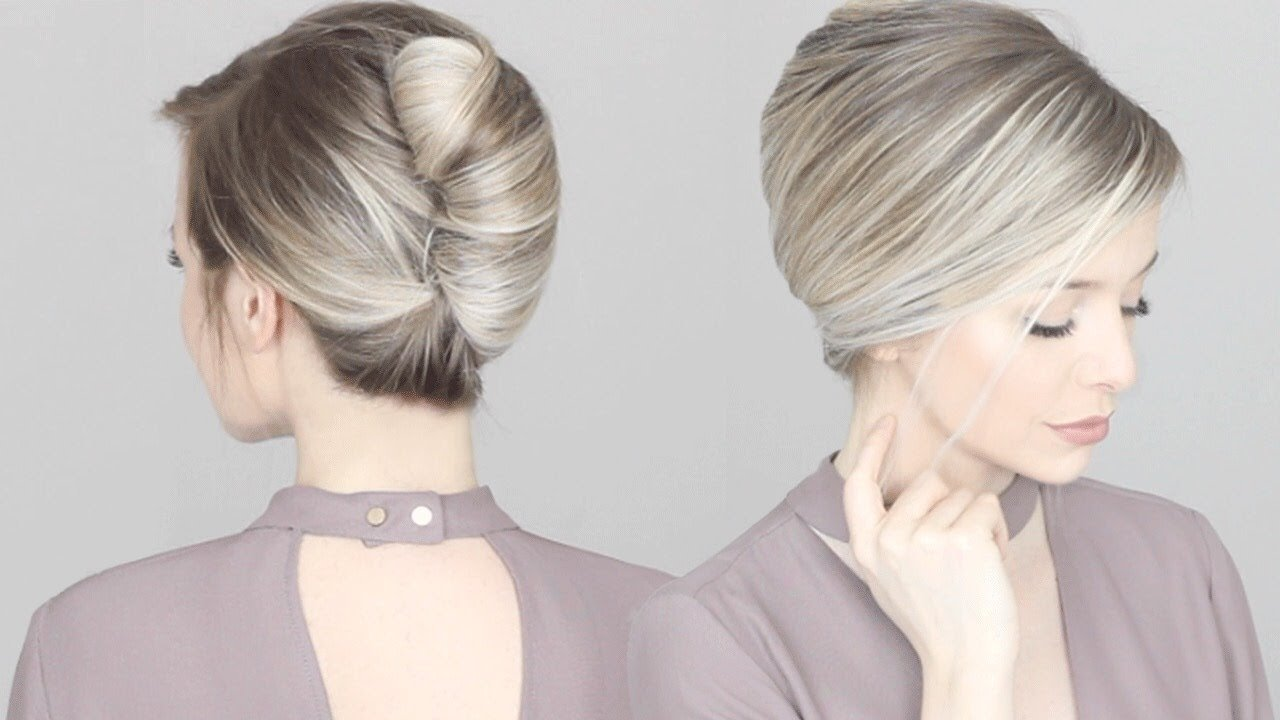 Free How To French Twist Updo Hair Tutorial Youtube Wallpaper