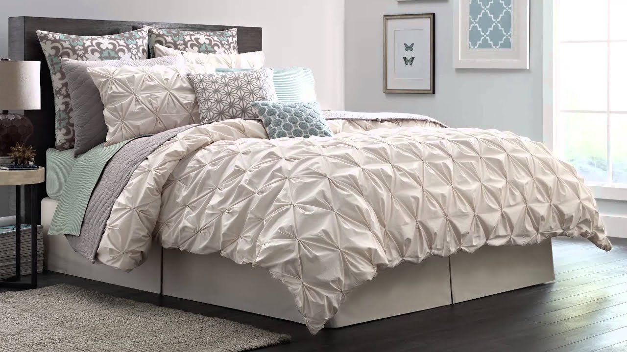 Best Real Simple Camille Jules Bedding Collection At Bed Bath Beyond Youtube With Pictures