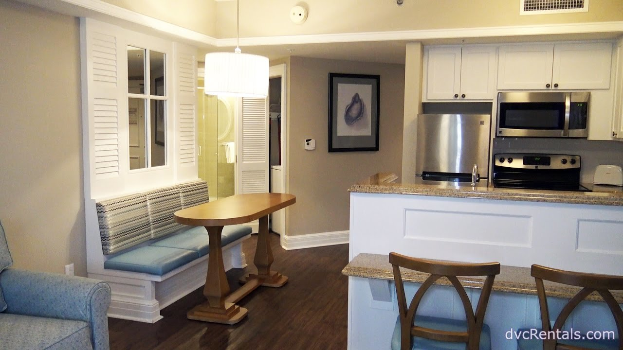 Best Disney S Beach Club Villas Room Tours 2017 1 Bedroom With Pictures