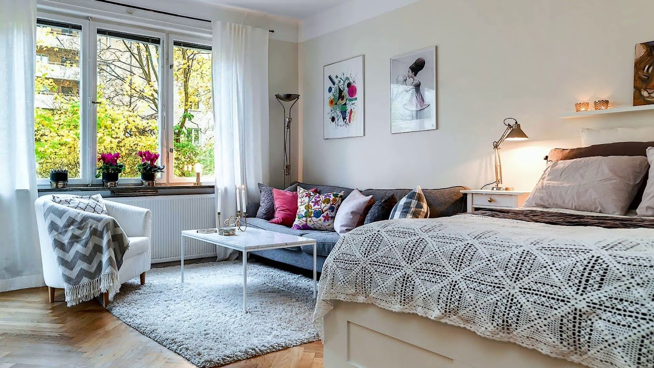 Best Small Studio Apartments 50 Creative Design Decorating With Pictures