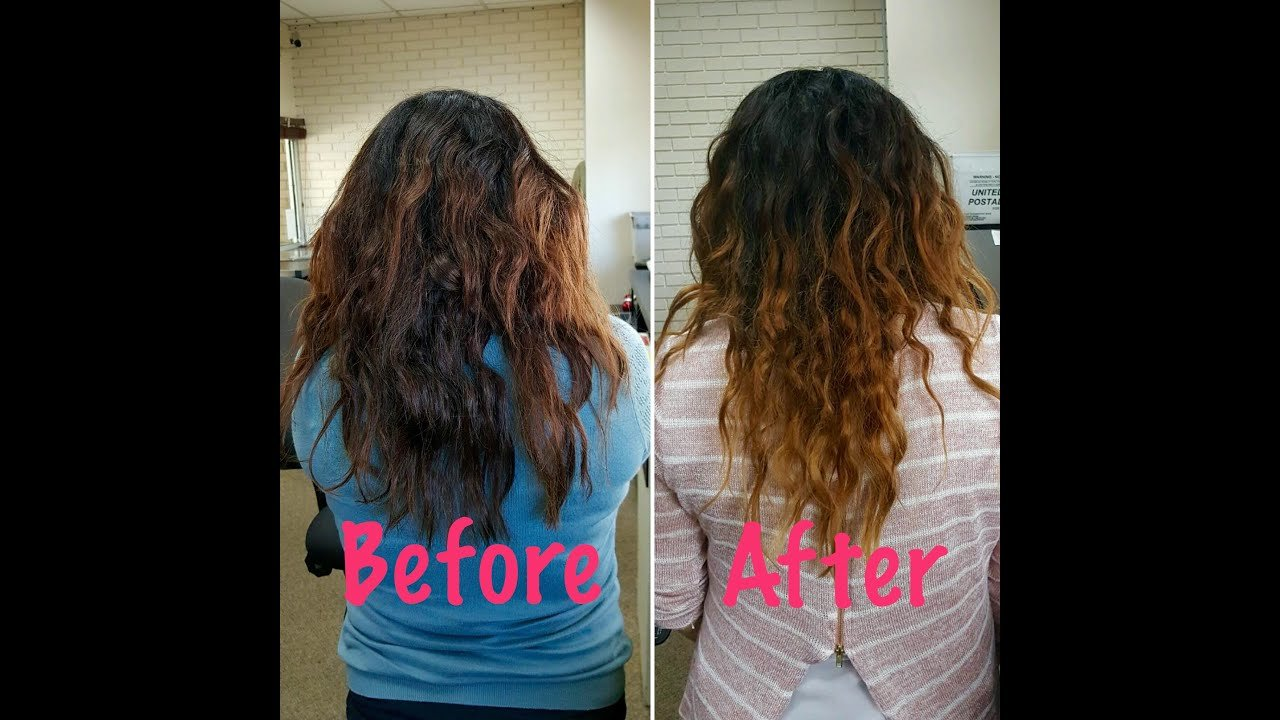 Free Curly Hair Routine For Type 2B 2C Hair Youtube Wallpaper