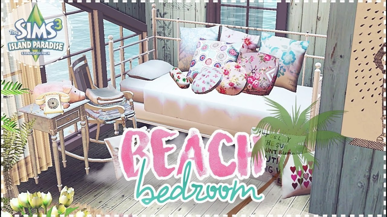 Best The Sims 3 Speed Decor Beach Bedroom Cc Included Youtube With Pictures