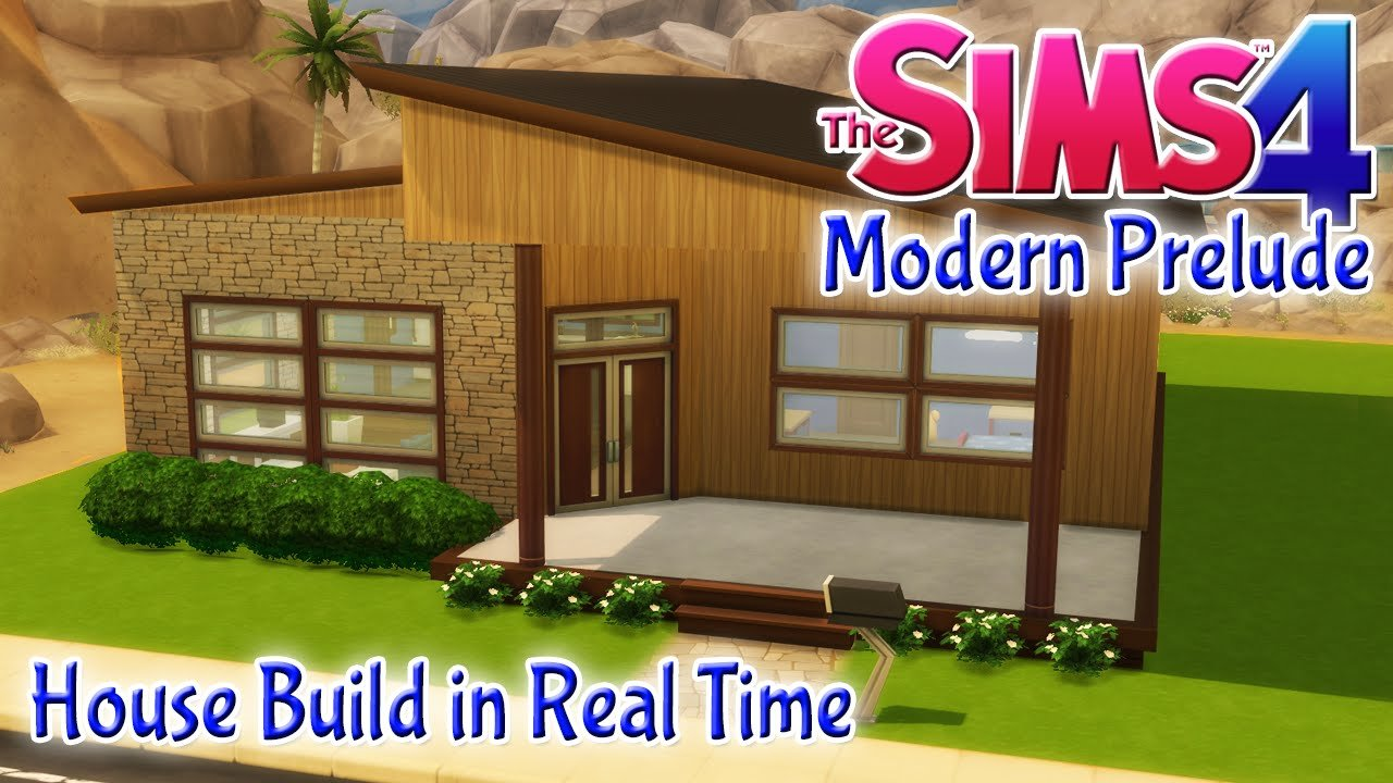 Best The Sims 4 House Build Modern Prelude 2 Bedroom Starter With Pictures