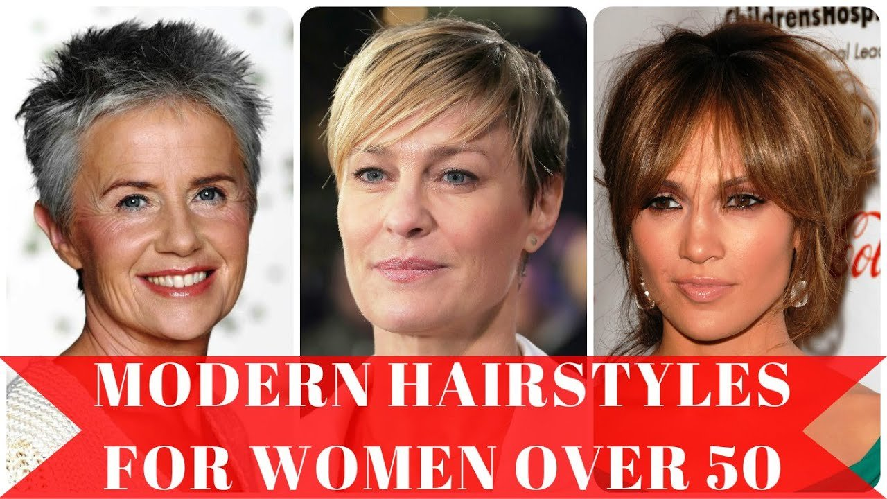 Free Modern Hairstyles For Women Over 50 Youtube Wallpaper