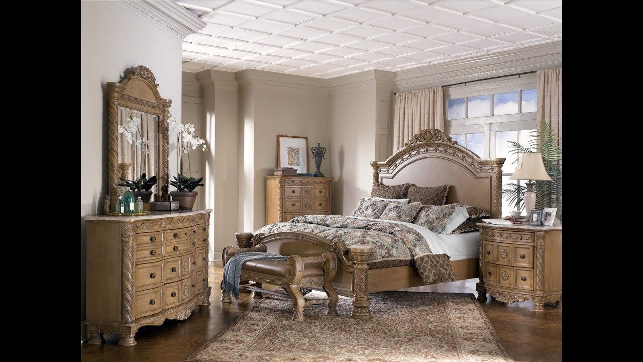 Best Ashley Furniture Bedroom Sets King Youtube With Pictures