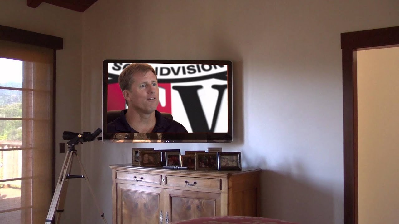 Best Wall Mounted Bedroom Tv Youtube With Pictures
