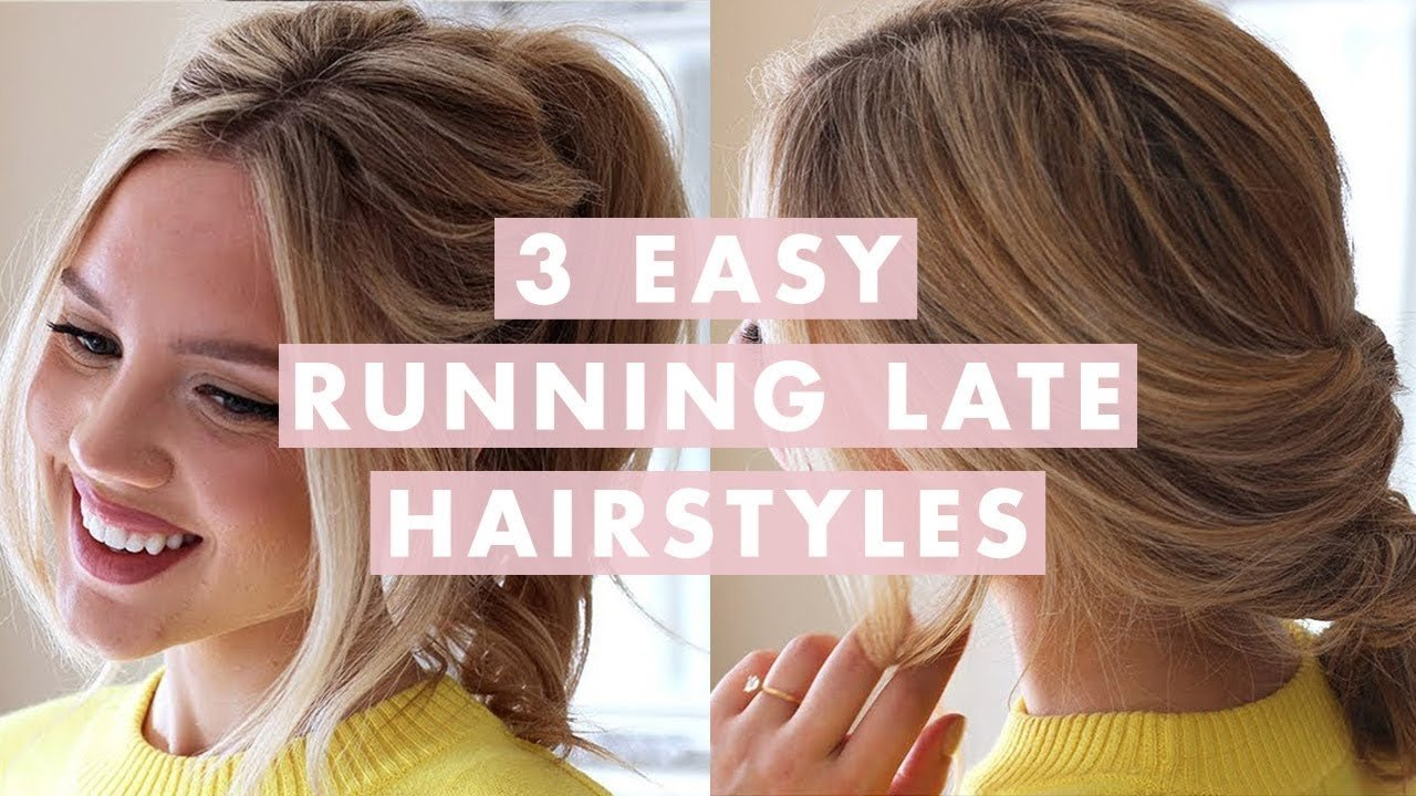Free 3 Easy Running Late Hairstyles Youtube Wallpaper