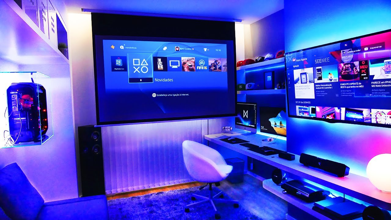 Best Insane Youtuber Gaming Setup Setup Spotlight Youtube With Pictures