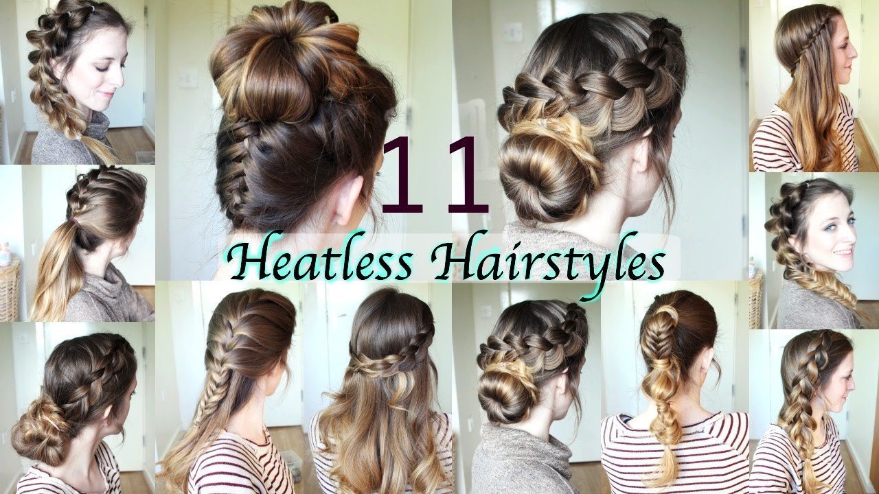 Free 11 Heatless Hairstyles Diy Hairstyles Wallpaper